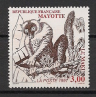 Mayotte - 1997 - N°Yv. 46 - Maki - Neuf Luxe ** / MNH / Postfrisch - Mayotte (1892-2011)