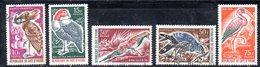 APR2009 - COTE COSTA D'AVORIO 1965 , Serie Yvert N. 238/242  Usata  (2380A) - Costa D'Avorio (1960-...)
