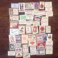 Tabac. 15. Lot De 49 étiquettes De Boîtes D'allumettes - Matchbox Labels