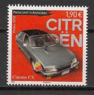 Andorre - 2018 - N°Yv. 822 - Auto / Cars / Citroen - Neuf Luxe ** / MNH / Postfrisch - Unused Stamps