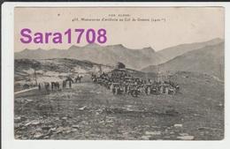 05 Briançonnais, Col De GRANON, Manoeuvres D'artillerie. Tampon Artillerie ST CHAFFREY. ( VOIR SCAN ). - Francia