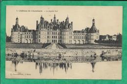 Château De Chambord (41) La Façade Sud 2scans 09-09-1914 - Chambord