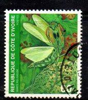 APR2176 - COTE COSTA D'AVORIO 1979 ,  Yvert N. 508D  Usato  (2380A)  Insetti - Costa D'Avorio (1960-...)
