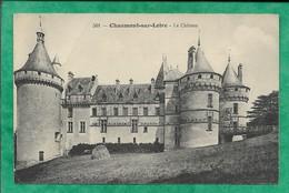 Chaumont-sur-Loire (41) Le Château 2scans 02-09-1914 (envoyée D'Onzain) - France