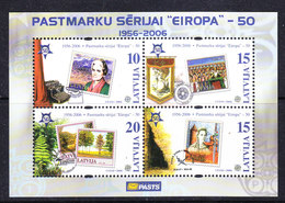 Latvia 2006 50Y Europa M/s** Mnh (44148) Promotion - Europese Gedachte
