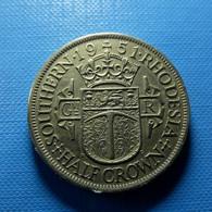 Southern Rhodesia 1/2 Crown 1951 - Rhodesien