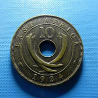 East Africa 10 Cents 1924 - Britse Kolonie