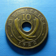 East Africa 10 Cents 1922 - Britse Kolonie