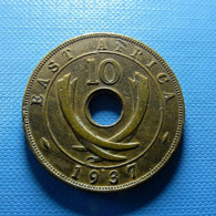 East Africa 10 Cents 1937 - British Colony