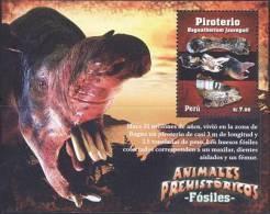 Peru 2009 Prehistoric Animals SS MNH - Stamps