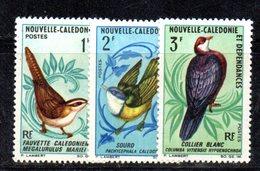 APR2188 - NUOVA CALEDONIA 1967 , Yvert N. 345+346+347  ***  MNH  (2380A)  Uccelli - Nuovi