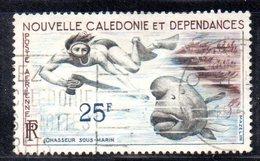 APR2194 - NUOVA CALEDONIA 1955 , Posta Aerea Yvert N. 69  Usato  (2380A) - Posta Aerea
