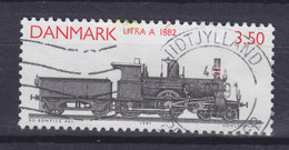 Denmark 1991 Mi. 997    3.50 Kr Lokomotive Dampflokomotive Baureihe A (1882) - Dänemark