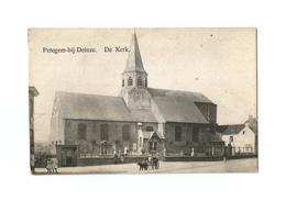 Petegem-bij-Deinze.  De Kerk. - Wortegem-Petegem