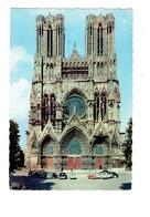 Cpm - 51 - Reims - Cathédrale - Travaux échafaudage - La Cigogne 5145493 - Voiture Traction Citroen - Reims