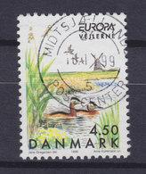 Denmark 1999 Mi. 1211    4.50 Kr Europa CEPT Vogelschutzgebiet Vejlerne Bird Vogel Oiseau - Dänemark