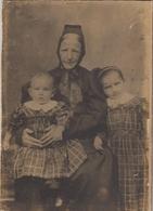 Großmutter Mit Ihren Enkeln, Karton-Foto Atelier Victoria, Ulm Ngl #F3561 - Fotografie