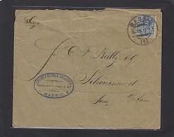 OSCAR Y GERMAN WELLAUER,MADRID.BRIEF NACH SCHÖNEWERD,SCHWEIZ. - 1889-1931 Königreich: Alphonse XIII.