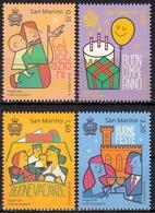 San Marino MiNr. 2746/49 ** Glückwünsche - San Marino