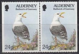 Alderney MiNr. 77 Dr Dl ** Freimarken: Fauna Und Flora - Alderney