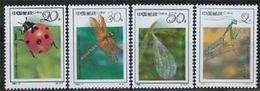 China MiNr. 2426/29 **, Insekten - Neufs
