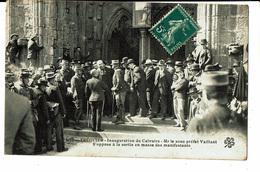 CPA - Carte Postale-Tréguier-Inauguration Du Calvaire En 1911 VM5563 - Tréguier