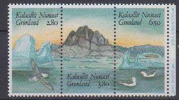 Greenland 1987 Hafnia 3v From M/s ** Mnh (44155) - Groenlandia