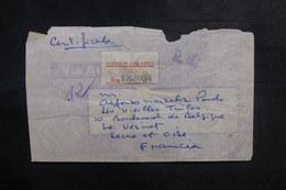 PEROU - Enveloppe En Recommandé Pour La France En 1947, Affranchissement Au Verso - L 39169 - Pérou