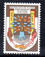 T731 - GUINEA , Serie  ***  MNH  RIFUGIATO . N. 51 SPST ARANCIONE - Rifugiati