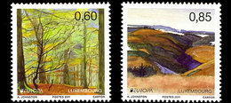 LUXEMBOURG 1847/49 Europa, Forêts, Année Des Volontaires - 2011