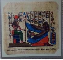 Egypt - Papyrus - Tekeningen