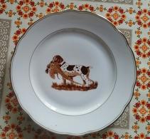 Assiette Kestens Scène Chasse - Bord Jachttafereel - Plate Hunting Scene - A2S 282 - Porselein & Ceramiek