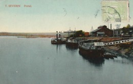 ***  ROMANIA  ***  SEVERIN  Portul - TTB - Roumanie