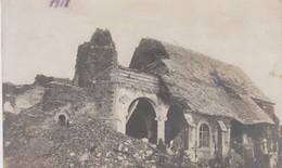 Carte Photo - Ruines - 1917 - Cachet - Guerre 1914-18