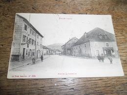 CPA De Fraize - La Rue De La Costelle - N°8384 - Carte Très Animée Enfant Et Passants - Fraize