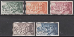1952 FERNANDO EL CATÓLICO SERIE AÉREA NUEVA. 33,5 € - 1931-Hoy: 2ª República - ... Juan Carlos I
