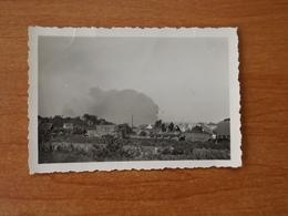 WW2 GUERRE 39 45 BREST BLINDES PANZER ALLEMANDS ATTENDANT L ORDRE DE RENTRER DANS BREST FEU ARSENAL  251 DIVISION - Brest