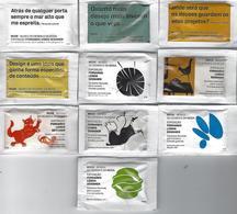 "PORTUGAL - Sugar Packs DELTA Cafés - MUDE ""Museum Of Design And Fashion - Exhibition Of Fernando Lemos"" - Suiker"