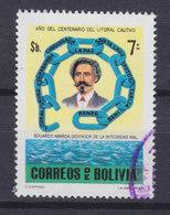 """Bolivia 1979 Mi. 949     7 P """"Salpeterkrieg"""" Eduardo Abaroa Held Der Pazifik-Krieges - Bolivien"""