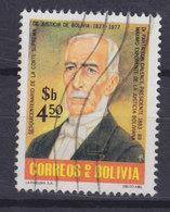 Bolivia 1977 Mi. 924     4.50 P Oberster Gerichshof Pantaleon Dalance, Pionier Der Justizreform - Bolivien