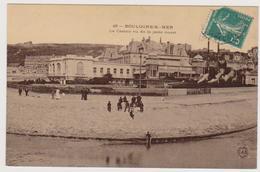62  BOULOGNE SUR MER  - Casino Jetée Ouest  - CPA  N/B 9 X14 TBE Carte Glacée - Boulogne Sur Mer