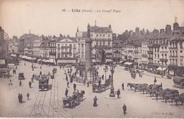 CPA - 66. LILLE - La Grand'place - Lille