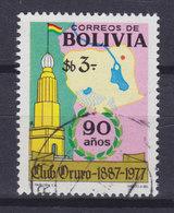 Bolivia 1977 Mi. 925     3 P Ouro-Club 90 Jahre - Bolivien