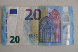 RARE  20 EURO AUSTRIA N004A6 Draghi - EURO
