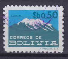 Bolivia 1978 Mi. 937     0.50 P Berg Mountain Illimani - Bolivien