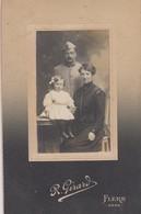 Photo Réelle - Militaire Avec Famille - Autres