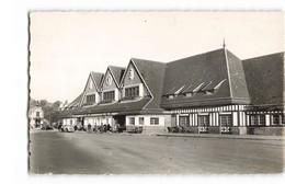14 Deauville Trouville La Gare CPSM PF Animée Vieille Voiture Auto Automobile Cachet 1951 - Deauville