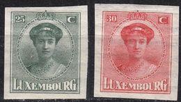 LUXEMBURG LUXEMBOURG [1922] MiNr 0140-41 ( */mh ) - Luxemburg
