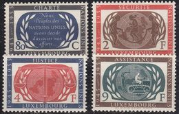 LUXEMBURG LUXEMBOURG [1955] MiNr 0537-40 ( **/mnh ) UNO - Luxemburg