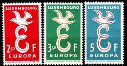 LUXEMBURG LUXEMBOURG [1958] MiNr 0590-92 ( **/mnh ) CEPT - Luxemburg